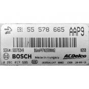 ECU Calculator Motor Saab 9-3 2.0TID 55578665 0281017595 EDC17C19 {