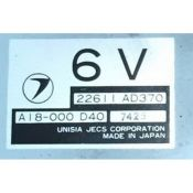 ECU Calculator Motor Subaru Impreza 1.6 22611AD370 6V {