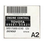 ECU Calculator Motor Toyota Avensis 2.2D4D 89661-05A21 175800-8340 {