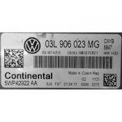 ECU Calculator Motor VW Polo 1.6TDI 03L906023MG 5WP42922AA SIMOS PCR2.1 CAYB {