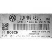 ECU Calculator Motor VW Touareg 3.0TDI 7L0907401L 0281014273 EDC17CP14 {