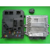 KIT pornire Citroen C2 1.4HDI 9654925380 5WS40111E-T SID804
