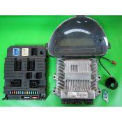 KIT pornire Citroen C3 1.4HDI 9660300280 5WS40285C-T SID806