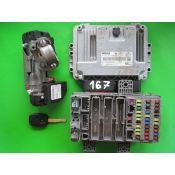 KIT pornire Honda Civic 2.2CDTI 37820-RSR-E14 0281012660 EDC16C7