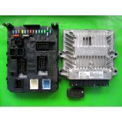 KIT pornire Peugeot 407 2.0HDI 9655534080 5WS40423C-T SID803A