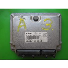 ECU Calculator Motor Audi A3 1.9TDI 038906018A 0281001409 EDC15V5 AGR